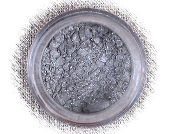Smoky Gray Luster Dust, Edible Luster Dust, Gray Luster Powder, Dark Silver Edible Luster Powder, FDA Approved Luster Dust, Gray Luster