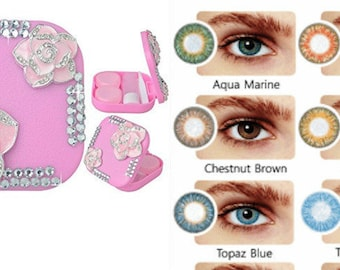 Handmade Contact Kit WITH contacts, Freshlook Color Contacts