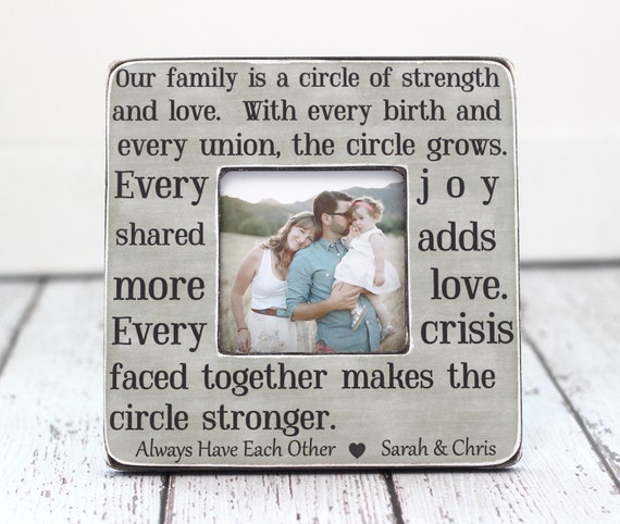 Mom Mother Gift Frame Personalized Gift Quote For Family