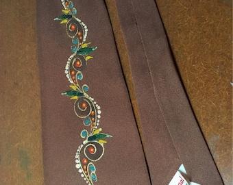 Mens vintage necktie