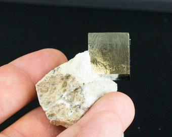 Cubic Pyrite Mineral Specimen