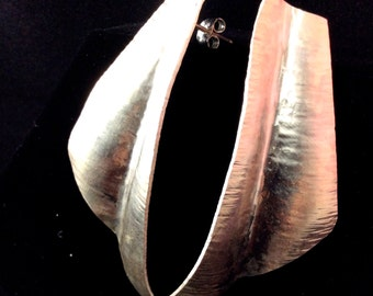Stunning Synclastic Formed Earrings