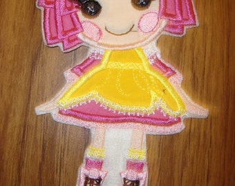 Lala Boutique Doll Sugar Crumb   Iron on patch