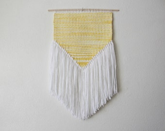 Yellow and White Wall Hanging