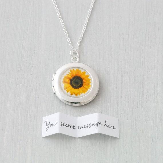 Sunflower Locket