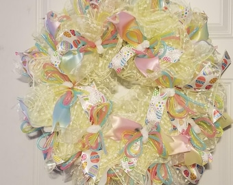 Multi Color Easter Wreath
