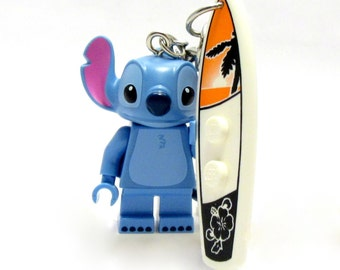Stitch® Inspired Keychains  Lilo & Stitch® Fan Art - Fan Art Crafted From LEGO® Elements