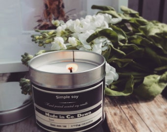 Flowerbomb Soy candle