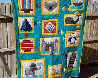 Traveling the World Quilt