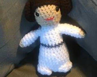 "Star Wars inspired ""Princess Leia"""