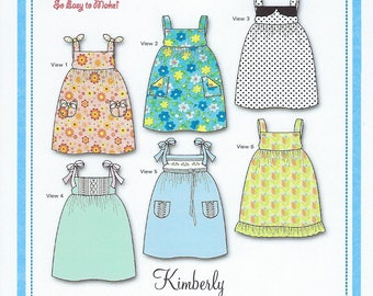 Bonnie Blue Pattern #160 / KIMBERLY / Sizes 6 mo - 10 yr