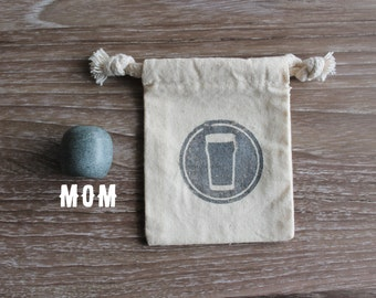 Mom's Beer Stone - Olive - Elevate Your Beer!