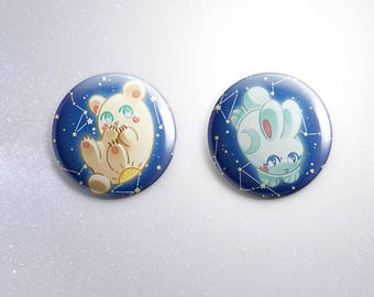 PRE-ORDERS Space Animals 【BUTTON 38mm】