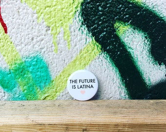 Pins (Set of 2) - Future is Latina & Fresa