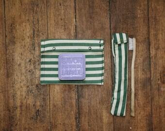SOAP saver et ZERO waste toothbrush case