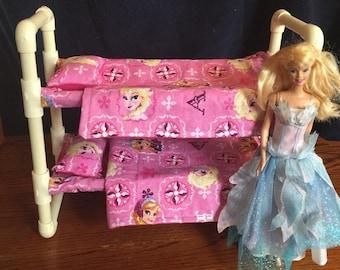 Barbie Doll Bunk Bed Disneys Frozen Print