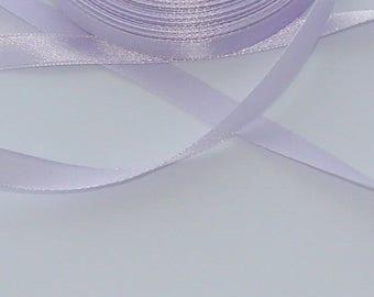 5 m width 9.8 mm Lavender satin ribbon