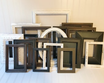 Office Decor, Gothic Home Decor, Wall Hanging, Reclaimed Wood, Kitchen Decor, Beach Wedding, Picture Frames, Picture Frame Set
