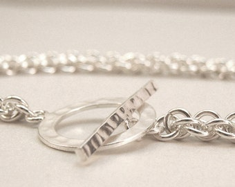 Chainmaille Sterling Silver Jens Pind Bracelet
