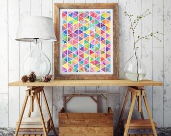 Geometric patterns,Watercolor pattern,Watercolor sample,Watercolor swatch,Watercolor design,Watercolor print