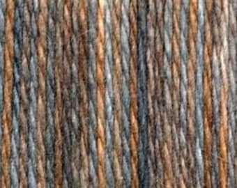 KFI Angora Merino Yarn - 196 yds. per skein - Grey/Cocoa - Worsted Weight