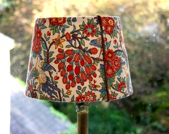 Loch Maree LIBERTY Pure Linnen Fabric,  Arts and crafts design Lampshade