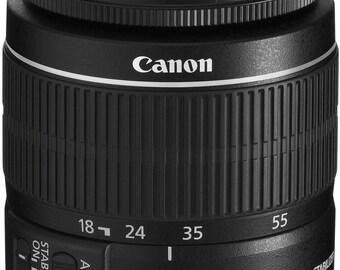 Canon Ef-s 18-55 mm F/3.5-5.6 Is II Lens - 2042B002 White Box