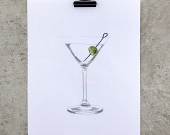 Martini Cocktail, Cocktails Collection
