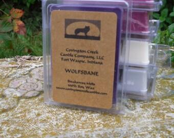 Sale - Halloween Wolfsbane Pure Soy Breakaway Melt