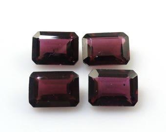 7x5mm Rhodolite Garnet Emerald Cut Approximately 5.31 Carat Nice Luster (12868)