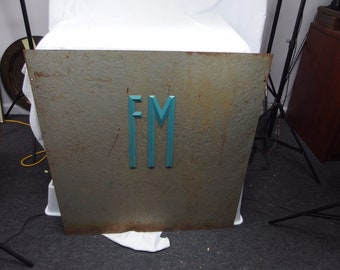 Fairbanks Morse Metal Sign Advertising Scale