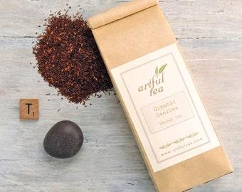 Organic Rooibos Herbal Tea • 4 oz. Kraft Bag • Luxury Loose Leaf Tea • Caffeine Free