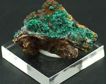 Pseudomalachite crystals, Chile - Mineral Specimen for Sale