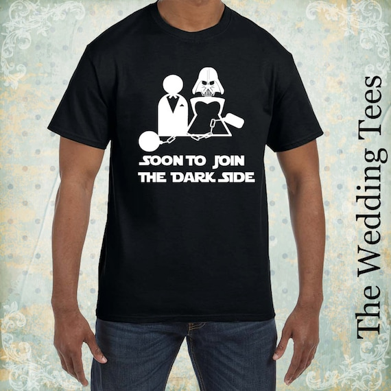 Wedding Funny T Shirt Groom Tees Star Wars Funny Tees