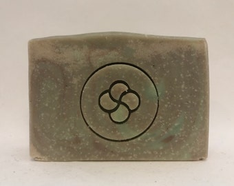 Gardner's Soap | Handmade Soap, Workman's Soap, Rosemary Mint Soap, Pumice Soap, Natural Soap, Bar Soap, Earth Toned Soap, kokum butter soap