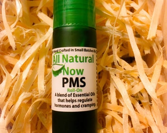 PMS Essential Oil Blend/100% Pure & Therapeutic Essential Oils/Regulate Hormones/Alleviate Cramping