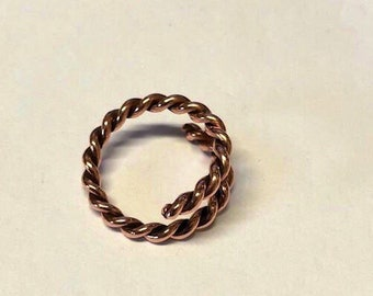 Braided - Copper - Ring