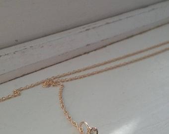 Little V Necklace