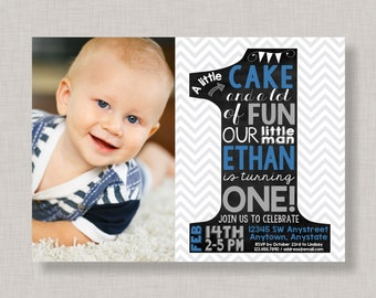 1st birthday invitations boy etsy first birthday invitation1st birthday invitationboy first birthday invitationlittle man birthday invitationnumber one birthdaychevron filmwisefo