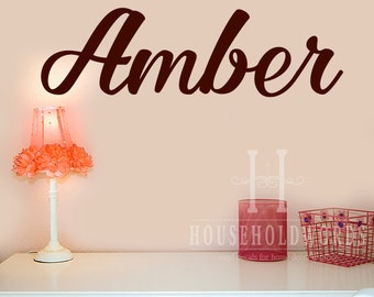 Personalized Monogram Wall Decal, Girls name Monongram Decal, Bedroom Decals, Office Decals, Dorm Decor, Custom Name Decals, Custom Gifts