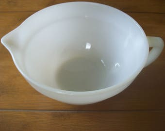 Fire King Oven Ware Batter Bowl 8 Made in USA
