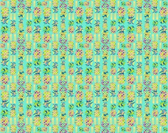 "12"" x 12"" Oracal Patterned Vinyl -Fineapple Mint by Sparkle Berry"