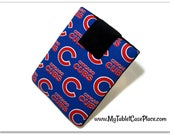 Tablet Case, iPad Cover, Chicago Cubs, MLB, Baseball, Kindle Fire Cover, 7, 8, 9, 10 inch Tablet Sleeve, Cozy,  FOAM Padding