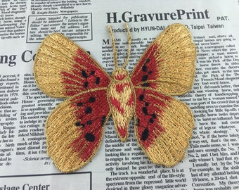 Embroidered Butterfly Appliques