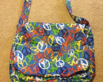 Peace Messenger Bag