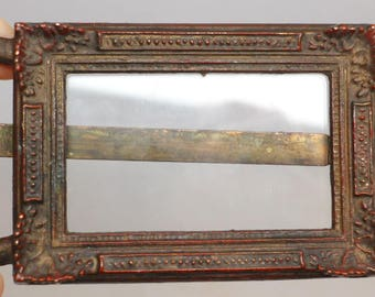 Antique Bronze Picture Frame - French Bronze Picture Frame - Bronze Photo Frame - Antique Photo Frame