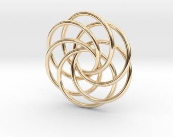 Interlocking Loops Pendant