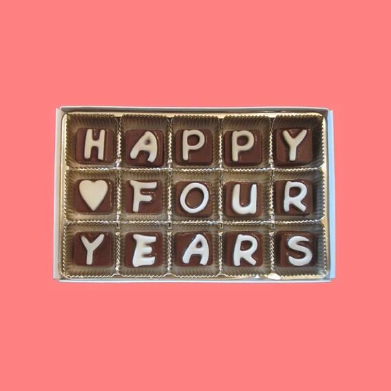 happy fourth year anniversary