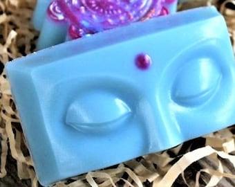 Buddha Soap-Buddha Face Soap-Indian Women Soap-Bindi Soap-Spiritual Soap-Gift for Her-Gift For Him-Woman Soap