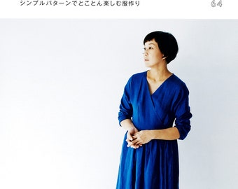 KANA'S STANDARD II 2 - simple pattern of the stylist Kana Sato making clothes, Japanese Sewing Craft Book, 9784579115600